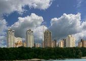 City building landscape — Stock Photo