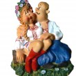 Ukrainian Cossack Love — Stock Photo