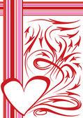 Fundo de saint valentine — Vetorial Stock