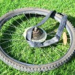 Stock Photo: Bike tire