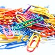Royalty-Free Stock Photo: Paper clips