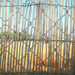Bamboo fence — Stock Photo #1032885