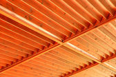 Wooden roof — 图库照片