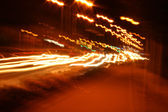 Lights in the night — 图库照片