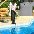 Swimming pool cleaner — Stok fotoğraf