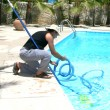 Swimming pool cleaner - Stock Photo