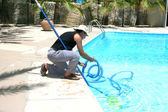 Swimming pool cleaner — 图库照片
