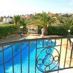 View from villa balcony — Stock Photo #1072630