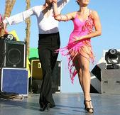 Dancers — Stock Photo