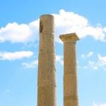 Apollo Temple columns at Amathus — Stock Photo #1491826