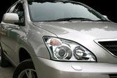 Gray car — 图库照片