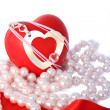 Valentine hearts — Stock Photo