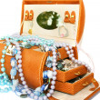 Stock Photo: Jewelery box