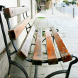 Alone bench — Stock Photo
