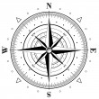 Royalty-Free Stock Imagen vectorial: Compass Rose