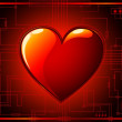Royalty-Free Stock Imagem Vetorial: Dark Valentines Day Background