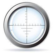 Sniper - isolado no branco — Vetorial Stock