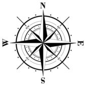 Compass Rose — Stockvector