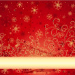 Christmas background — Stockvector #1039001