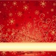 Christmas background — Stock vektor #1039001
