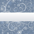 Royalty-Free Stock Vector Image: Winter background with snowflakes