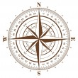 Royalty-Free Stock Vectorielle: Compass Rose