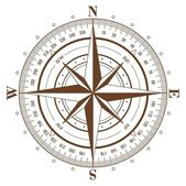 Compass Rose — Vetorial Stock
