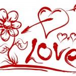Valentines Day Symbols — Stock Vector