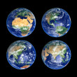 Royalty-Free Stock Photo: Four Globes
