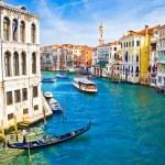 Grand canal, Venetië — Stockfoto