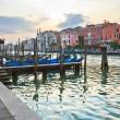 's avonds in Venetië — Stockfoto
