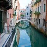 Canal in Venetië — Stockfoto