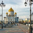 Cathedral of Christ the Saviour in Mosco — Foto Stock