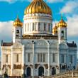 Cathedral of Christ the Saviour in Mosco — Stok fotoğraf
