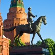 Georgy Zhukov monument — Stock Photo