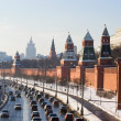 Moscow Kremlin wall — Stock Photo #1008952