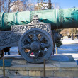 The biggest ancient cannon — Stock Photo #1009298