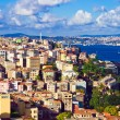 Istanbul and Bosphorus panorama — Stock Photo