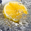 Royalty-Free Stock Photo: Lemon and water