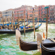 Stock Photo: Venetian Gondolas