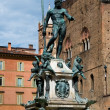 Bologna fountain — Stock Photo
