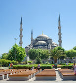 Sultan Ahmed Mosque — Stock Photo