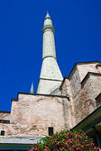 Minaret of Hagia Sophia — Stock Photo