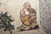 Fresco bizantino — Foto de Stock
