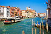 Vaporetto in Venice — Stock Photo
