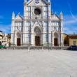Santa Croce basilica — Stock Photo