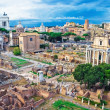 Ancient Forum in Rome — Stock Photo