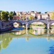 Stock Photo: Bridge Ponte Vittorio Emanuele II