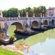 Sant Angelo Bridge — Stock Photo