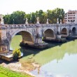 Sant Angelo Bridge - Stock Photo